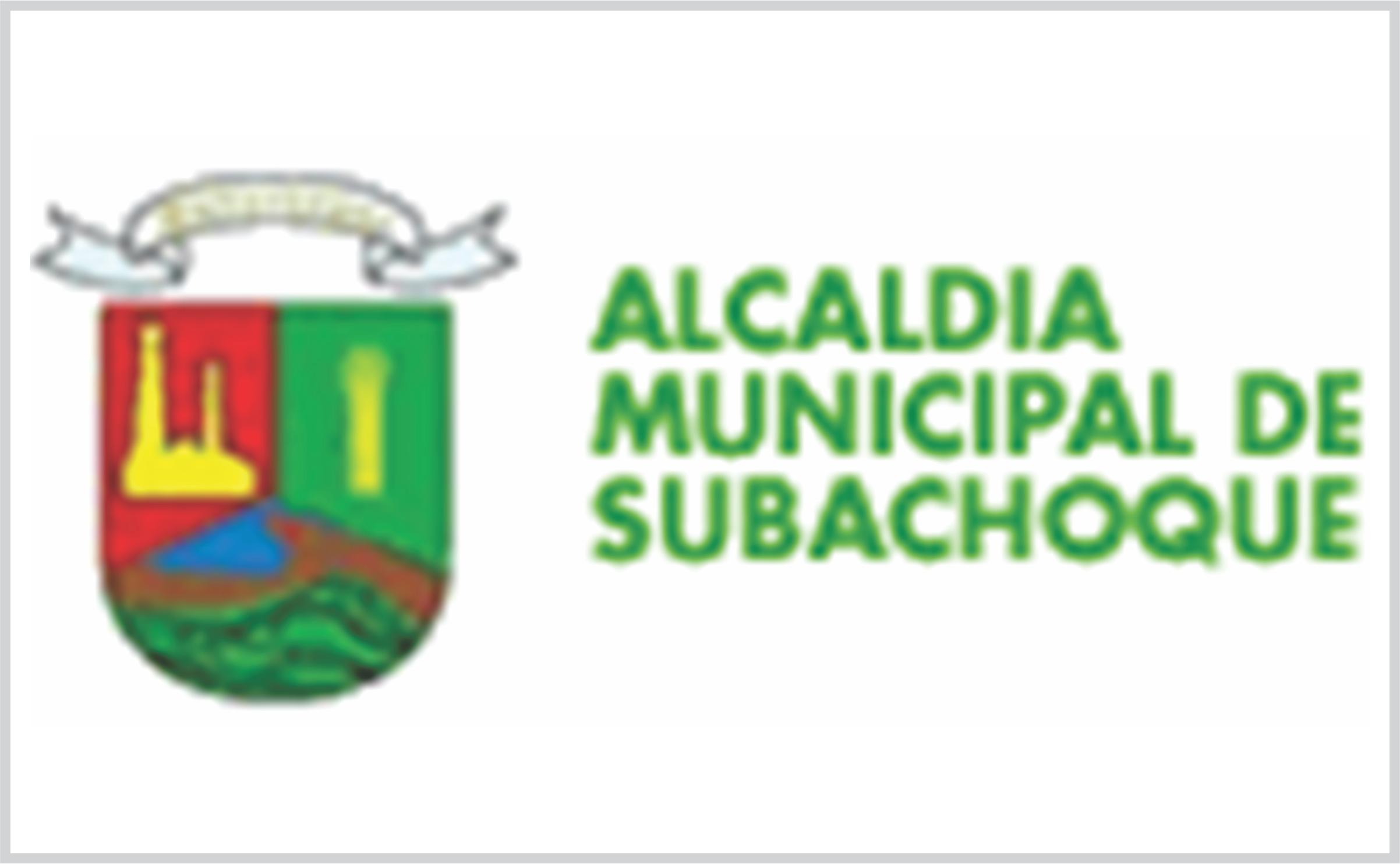 Alcaldía Municipal de Subachoque